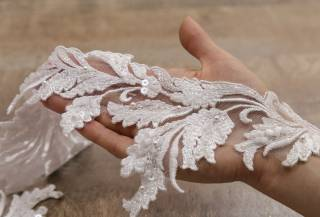 свадебное кружево