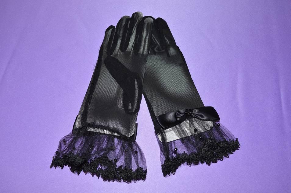 Перчатки сетка № 2 фото
