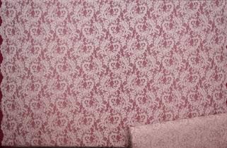 Гипюр сутажный с блесками № 083С фото