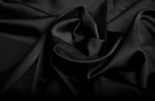 Атлас-стрейч плотный маслянистый № 1010 фото