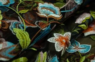 Сетка-цветы № 13340 фото