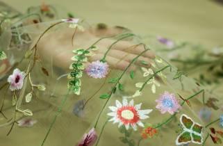 Сетка-цветы № 13347 фото
