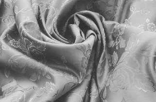 Жаккард средней плотности Роза № 652  фото